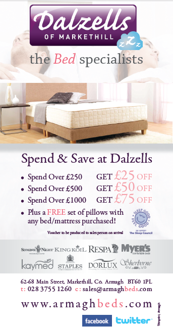 Dalzells Beds - Discount Voucher