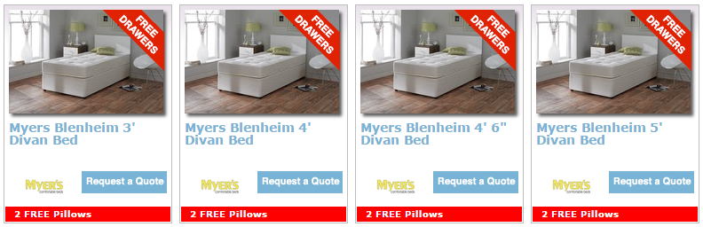 Myers Bed Promotion