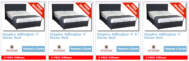 Staples Bed Promotion