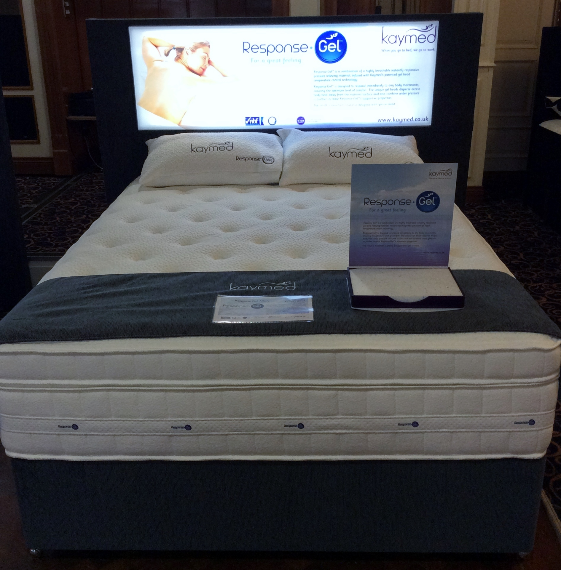 Kaymed Response Gel Mattresses And Beds
