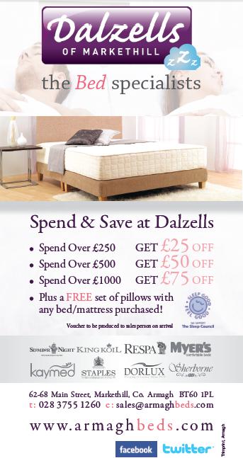 Dalzells Beds - Discount Voucher