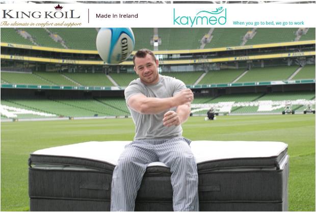 Cian Healey - New Brand Ambassador Kaymed - King Koil
