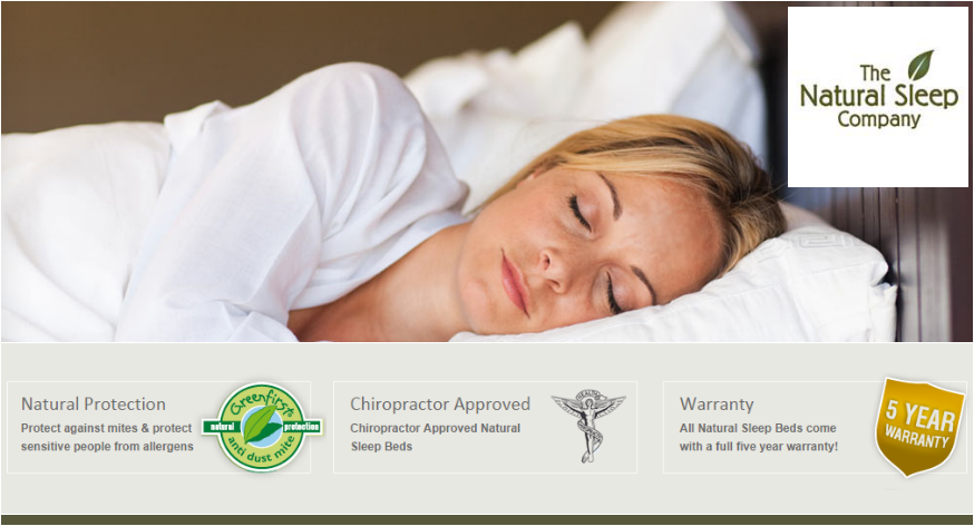 Now Stocking The Natural Sleep Company At Dalzells Beds!