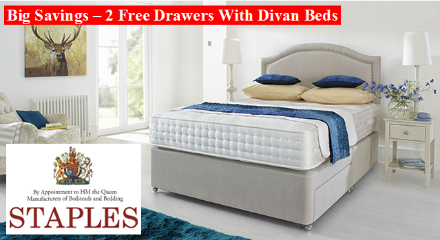 Staples Promotion - Free Drawers