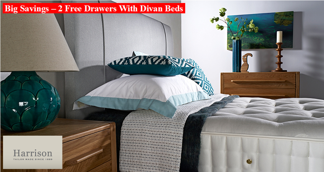 Harrison Beds Promotion Free Drawers With Divan Beds