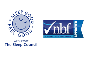 Dalzells are The Sleep Council and National Bed Federation Approved