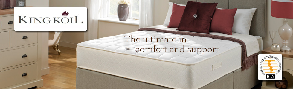 King Koil Divan Bed and Mattress Retailer Belfast N. Ireland and Dublin Ireland