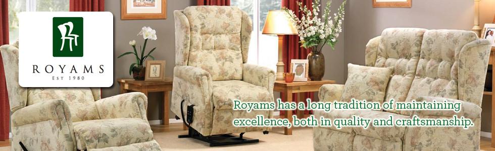 Royams Recliner Chair Retailer Belfast N. Ireland and Dublin Ireland