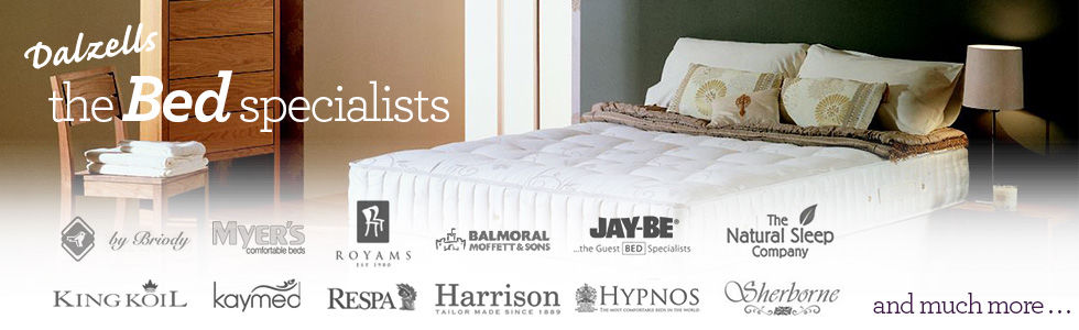Dalzells Beds - The Bed Specialists