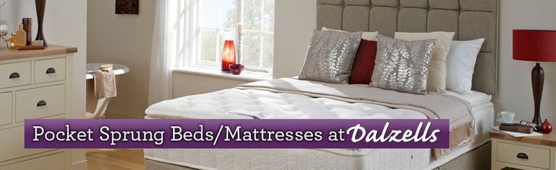 Pocket Spring Beds Mattresses Retailer Belfast N. Ireland and Dublin Ireland