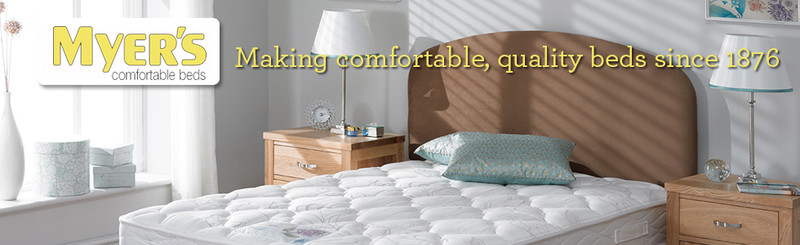 Myers Divan Bed and Mattress Retailer Belfast N. Ireland and Dublin Ireland