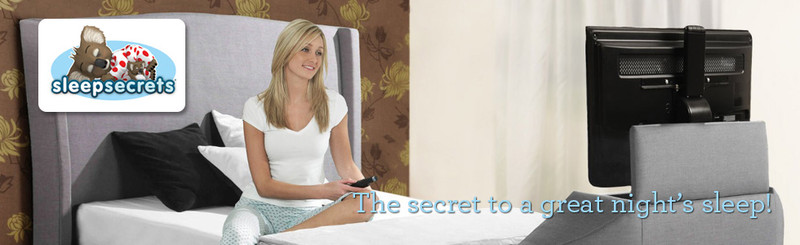 Sleep Secrets TV Beds Retailer Belfast N. Ireland and Dublin Ireland